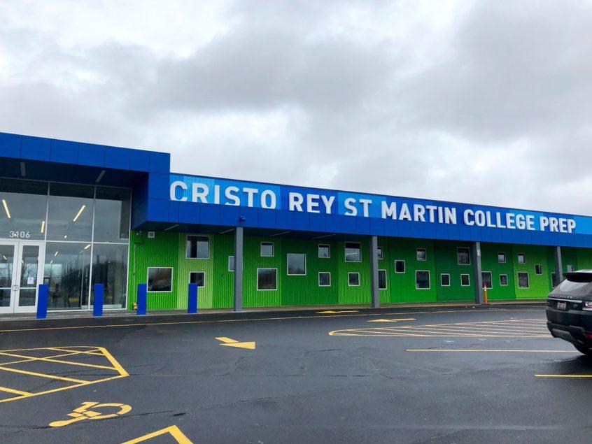 new building Archives - Cristo Rey St  Martin College Prep